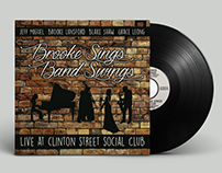 Brooke Sings, Band Swings - Album Artwork