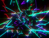 Neon Lasers And Lights VJ Pack