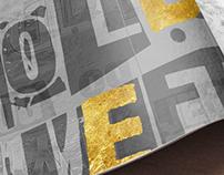 KA&D – Typographic magazine