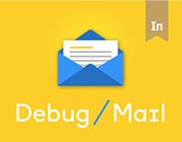 Debug / Mail LandingPage
