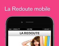 Création de l'application iPhone La Redoute
