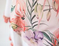 Sohaila Salem - Spring silk ponchos