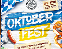 Oktoberfest Festival Poster vol.5