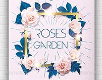 Roses Garden Flyer