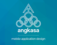 Angkasa - Mobile App Design