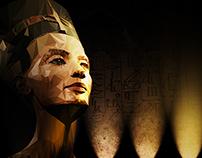 Nefertiti ( Low Poly )