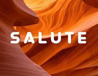 SALUTE - Typeface