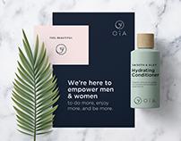 Oïa – beauty brand identity