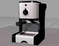 Coffee Maker Prop- Introduction to Entertainment Arts