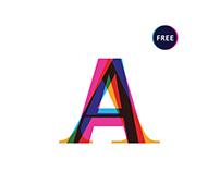 Colorplus. Free font.
