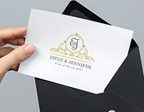Wedding Logo For Eitan And Jennifer