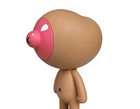 Bobbie Nippleface Prototype Figure