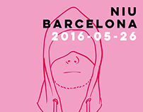 O Samuli A Live at Niu Barcelona 2016 Flyers
