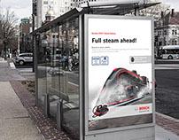 BOSCH Steam Iron & Steam Station Campaign Visuals