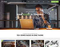 Crane - Multipurpose Wordpress Theme