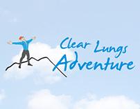 Clear Lungs Adventure Website + Logo Design