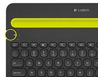 LOGITECH Keyboard K480 - RedDot Design Award 2015