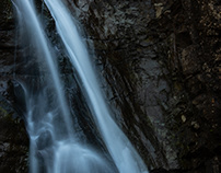 Water falls