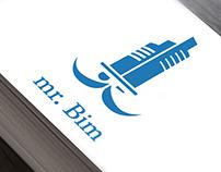 Логотип архитектурного бюро «mr. Bim»