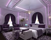 Modern Oriental Bedroom