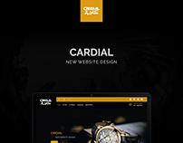 CARDIAL Website Design