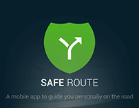 Safe Route - Mobile App