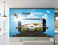 Flight Booking Poster For Office