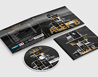 Digipack project for a CD