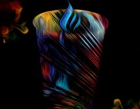 Blue FIRE x Digital Art.