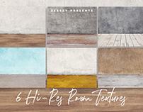 6 Free Hi-res Room Textures