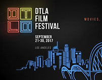 DTLA Film Festival | Motion Graphics