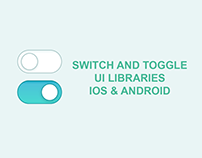 Toggle Switch UI Libraries by Top App Developers