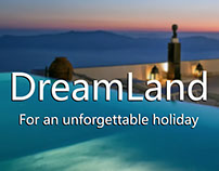 DreamLand: Responsive Website Design