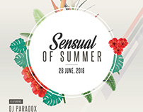 Sensual of Summer - Freebie PSD Flyer Template
