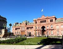 Casa Rosada y Plaza de Mayo