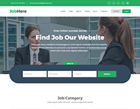 JobHere - Job Board Responsive Bootstrap 4 Template