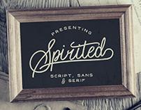 Spirited - FREE FONT