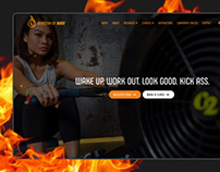 Ministry of Burn - Gym & Workout Class Website