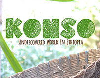 Konso. Undiscovered world in Ethiopia Branding