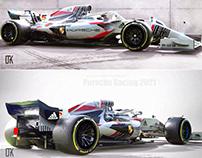 Porsche F1 Racing 2021 Concept
