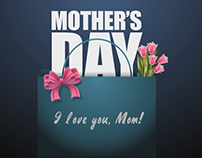 Happy Mother's Day from Max Art- Motion Graphics