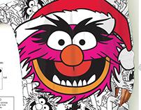 DISNEY - ladies christmas designs for SugarbirdFW14