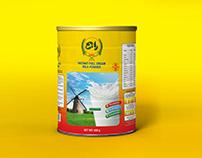 Instant Milk Powder Packaging