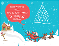 Christmas & New Year Newsletter template