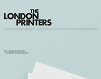 The London Printers - student offer/price guide