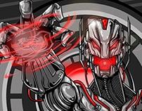 Ultron Fan Art by Azeem Montero