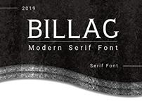 BILLAG Serif Font
