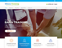 Medical Education Company Website Design by Nexstair