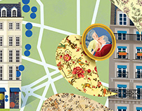 ILLUSTRATED CITY MAPS I VOYEUR MAGAZINE 4:5