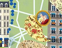 ILLUSTRATED CITY MAPS I VOYEUR MAGAZINE 4:5